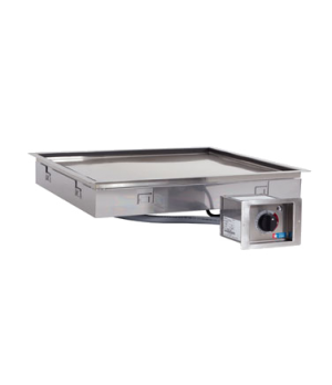 "Hot Food Module, built-in, 24-3/4"" W x 24-3/4"" D, Halo Heat® base, thermostat co"
