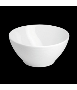 "Bowl, 20 oz., 5-3/4"" dia. x 2-5/8""H, round, porcelain, Tria, Wish (minimum = cas"