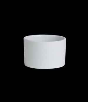 "Ramekin, 5-1/2 oz., 3-1/8"" dia. x 2""H, round, deep, Varick, Café Porcelain (USA"