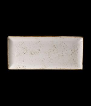 """Platter, 14-1/2"""" x 6-1/2"""", rectangular, narrow rim, freezer/microwave/dishwasher"""