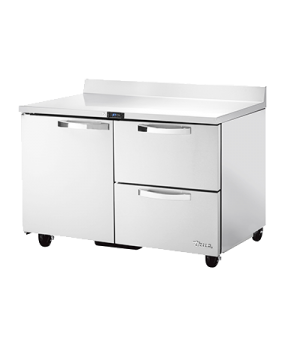 Spec Series Work Top Refrigerator, two-section, SPEC Package 1 includes: (stainl