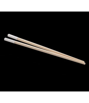 Chopstick Set,  ivory with silver-plated tip, WNK (USA stock item) (minimum = ca