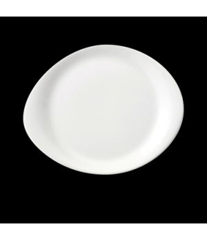 "Plate, 10"" dia., round, freezer/microwave/dishwasher safe, lifetime edge chip wa"
