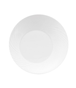 "Ethereal Salad Plate, 9"" dia., round, dishwasher safe, bone china, white"