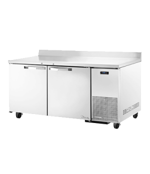 Spec Series Deep Work Top Freezer, two-section, SPEC Package 1 includes: (stainl