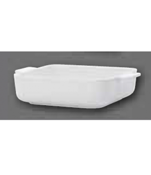 "Baking Dish, 8-1/4"" x 8-1/4"", square, with handles, oven, microwave and dishwash"
