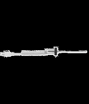 """Blunt Tip Probe, 4"""" (102mm) shaft length, 1/8"""" (3.2mm) shaft and tip dia., -100"""