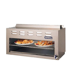 "Restaurant Series Range Match Cheesemelter, gas, 24"", infrared burners, adjustab"