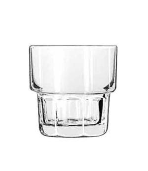 "Rocks Glass, 9 oz., stackable, DuraTuff®, GIBRALTAR®, (H 3-3/8""; T 3-1/4""; B 2-5"