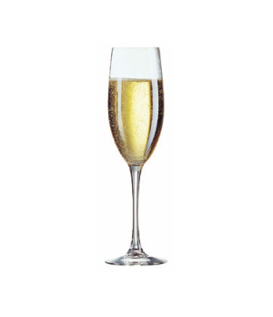 Grand Flute Glass, 8 oz., glass, Kwarx®, Effervescence Plus, Chef & Sommelier, C