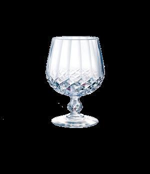 "Brandy Glass, 10-3/4 oz., crystal, Cristal D'Arques, Longchamp, (H 5""; T 3-1/2"";"