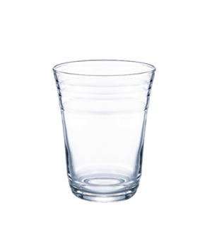 "Party Glass, 16 oz., glass, Arcoroc (H 4-7/8""; T 3-3/4""; M 3-3/4""; B 2-1/2"")"