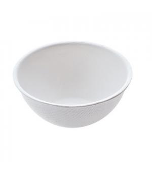 "Disposable Finger Food Bowl, 2-5/6"" x 1-1/5"" (7.2 x 3.0 cm), round, biodegradabl"