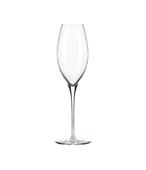 Wine Glass, 8-3/4 oz., seam-free, stem, flat foot, ClearFire™ glass, Rivere, (H