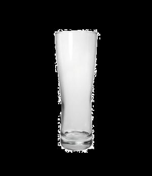 "Pilsner Glass, 20 oz., Arcoroc, Oslo (H 8-3/4""; T 3-1/8""; B 3-1/8""; M 3-1/8"")"