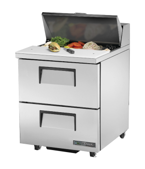 "ADA Compliant Sandwich/Salad Unit, (8) 1/6 (4""D) poly pans, stainless steel insu"
