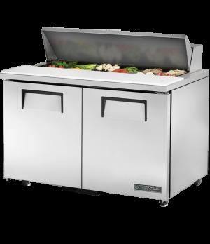 "ADA Compliant Sandwich/Salad Unit, (12) 1/6 size (4""D) poly pans, stainless stee"