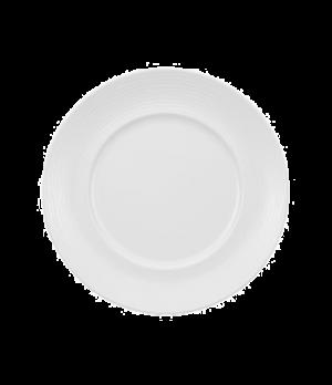 "Plate, 9-7/8"", flat, premium porcelain, Marchesi-Sedona"