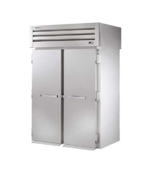 "SPEC SERIES® Roll-thru Refrigerator, 89"" H, stainless steel front, aluminum side"