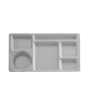 "Camwear® 2 x 2 Compartment Tray, 6-compartment, rectangular, 9"" x 15"", co-polyme"