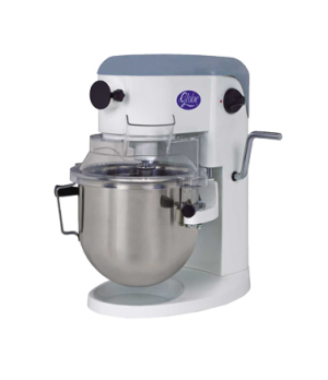 Planetary Mixer, 5 qt., countertop model, 10 variable-speed, #10 attachment hub,