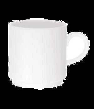 Mug, 9-1/4 oz., stackable, premium porcelain, Universal