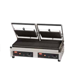 "Multi Contact Grill, 20"", double, grooved top & bottom plate, adjustable thermos"