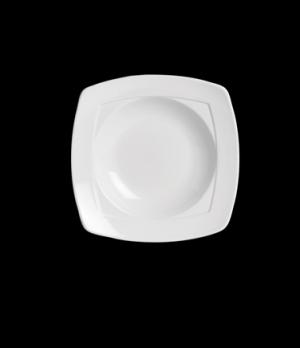 "Bowl, 7-1/2 oz., 7-3/4"", square, vitrified china, Performance, Taste (Canada sto"