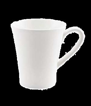 (0155) Fusion Mug, 9-1/4 oz. (28.0 cl), embossed, bone china, microwave safe