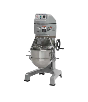 Planetary Mixer, 40 qt., floor model, 3 fixed-speed, #12 hub, includes: removabl
