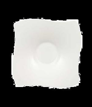 "Saucer, 6-2/3"" x 6-3/4"", (Order OCR -1319), premium bone porcelain, New Wave Pre"