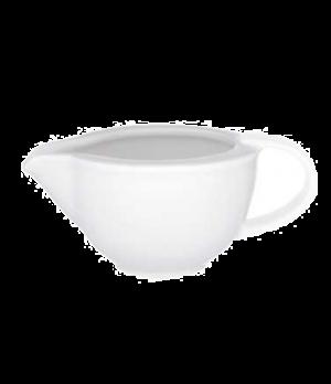 "Sauceboat, 4-3/8"" x 3"", 3-1/2 oz., premium porcelain, Universal"