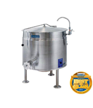 Short Series™ Steam Jacketed Kettle, Electric, 40-gallon capacity, full steam ja
