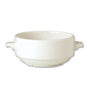 Soup Cup, 10 oz., stackable, lugged, vitrified china, Performance, Ivory (non-st