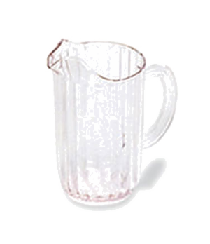 Bouncer® Pitcher, 72 oz., drip-proof spout, light weight, dishwasher safe, polyc