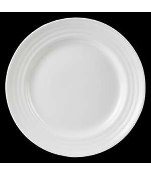 "Plate, round, 8"" dia., Performance, Arondo, white (minimum = case quantity)"