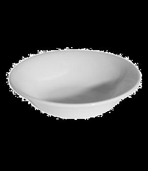 "Oatmeal Bowl, 12 oz. (0.34 liter), 6"" (15-1/2 cm), round, rimless, scratch resis"