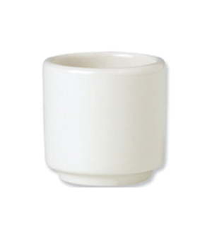 Egg Cup, 1-7/8', footless, vitrified china, Performance, Plain Ivory (non-stock