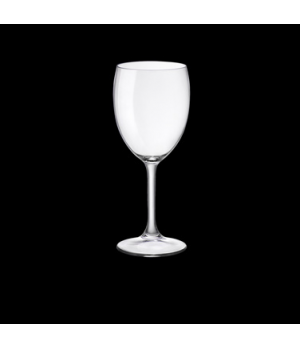 Water Glass, 11-1/2 oz., pulled stem, tempered, Bormioli, Dulcinea (USA stock it