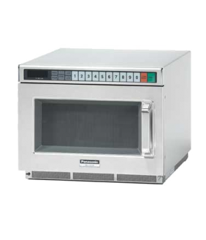 Pro Commercial Microwave Oven, 1200 Watts, compact, 15 power levels, electronic