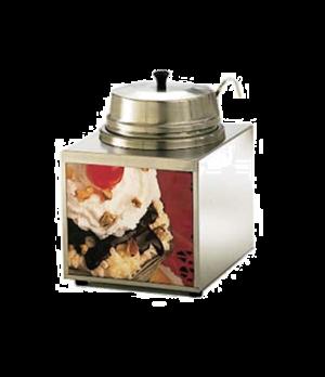 Lighted Food Warmer, countertop, electric, 3-1/2 quart capacity, 1 oz. ladle, se