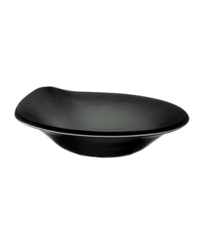 "Bowl, 7 oz., 7-1/8"", deep, glass, black, Cera"