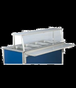 "NSF2 (2011) Single Deck Classic Cafeteria Breath Guard for 28"""" ADA Signature un"