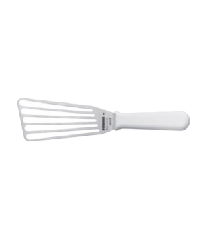 "Chefs Fish Turner, 3"" x 6"", slotted, polypropylene handle"