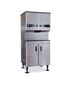 Ice & Water Dispenser, counter model, 200-lb ice capacity, accommodates KM-320,