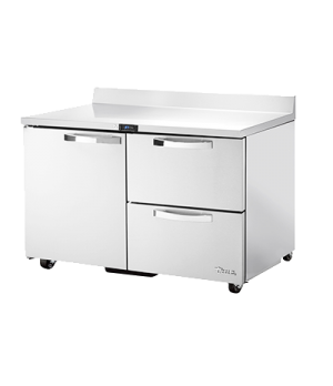 Spec Series ADA Compliant Work Top Refrigerator, two-section, SPEC Package 1 inc