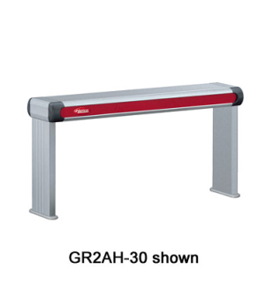 "Glo-Ray® Designer Foodwarmer, 21-1/2""W, infrared, standard wattage, tubular meta"