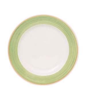 "Plate, 8"" (20 cm), round, wide rim, scratch resistant, oven & microwave safe, di"