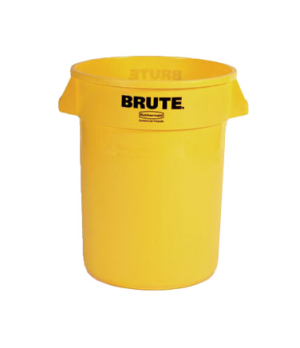 "ProSave® BRUTE® Container, without lid, 32 gallon, 22""D x 27-1/4""H, round, reinf"