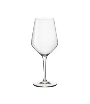 "Wine Glass, 15 oz., 3-3/8"" dia. x 8-1/2""H, medium, Bormioli, Electra (USA stock"